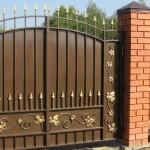 ворота из металла и ковки в Белгороде